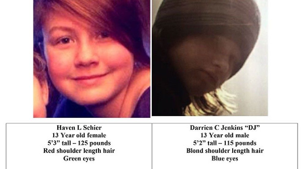 Sheriff: Cheshire area missing teens found | KVAL