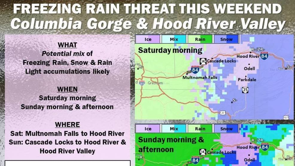 Freezing rain possible in Columbia River Gorge Saay and ... on map of gorge amphitheatre, map of columbia basin, map of columbia county, map of white river, map of st lawrence river, tanner creek columbia river gorge, map of john day river, map of missouri river, mt. hood columbia river gorge, map of little river sc, map of ohio river, map of snake river, beacon rock columbia river gorge, map of columbia bar, map of tennessee river, map of red river new mexico, driving the columbia river gorge, map of connecticut river, map of ganges river, multnomah falls columbia river gorge,
