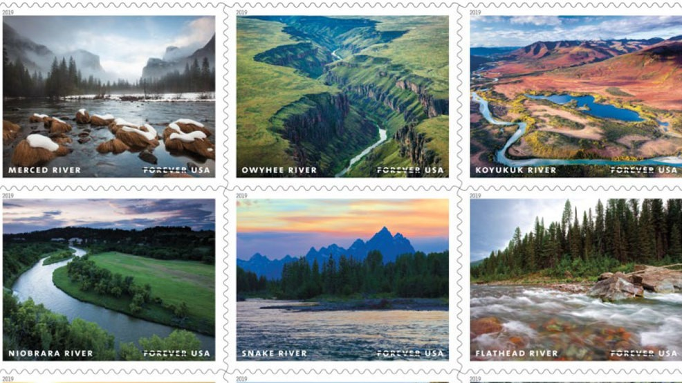 Northwest rivers featured on new Forever stamps in 2019 | KVAL