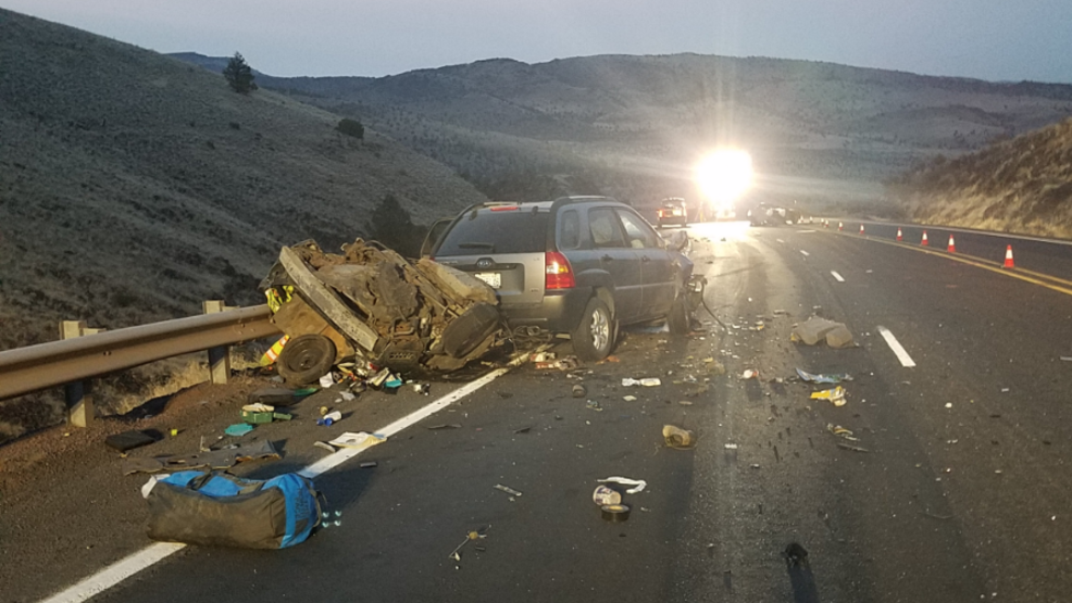 Woman, 2 children dead in crash on Hwy 97 north of Madras