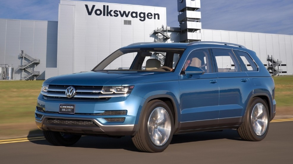 Vw Suv 2017 >> Vw S 3 Row Suv To Be Called The Atlas Kval