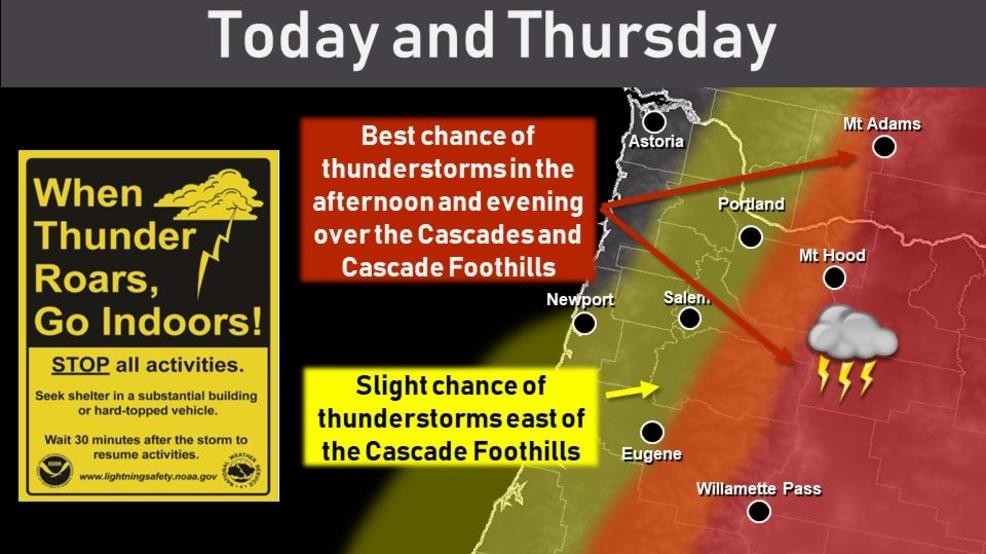 Severe Thunderstorm Watch: Track thunderstorms in Pacific Northwest