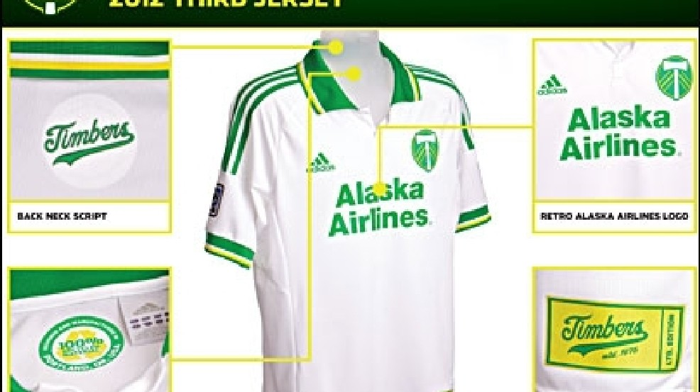 info for 174ad 30d88 Timbers unveil retro-inspired jersey for 2012 | KVAL