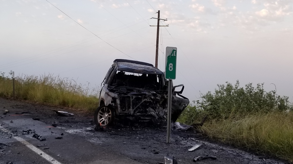 1 dead after fiery crash on Hwy 42 near Coquille | KVAL