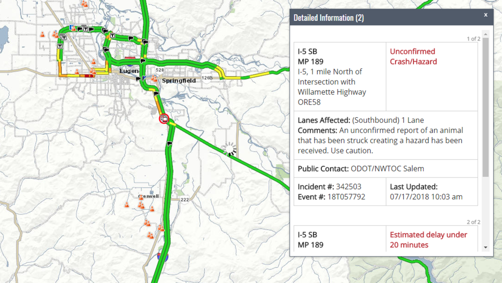 Crashes cause delays on I-5 south of Eugene | KVAL on interstate 27 map, interstate 422 map, i-10 map, lincoln way map, interstate 4 map, interstate 20 map, texas map, interstate 70 map, interstate 421 map, highway 82 map, interstate 8 map, interstate 81 map, i-70 colorado road map, interstate 80 map, interstate 5 map, interstate 25 map, interstate 75 map, interstate i-10,