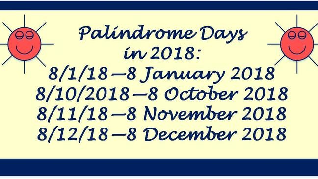 The First Of  Palindrome Dates This Month Kval