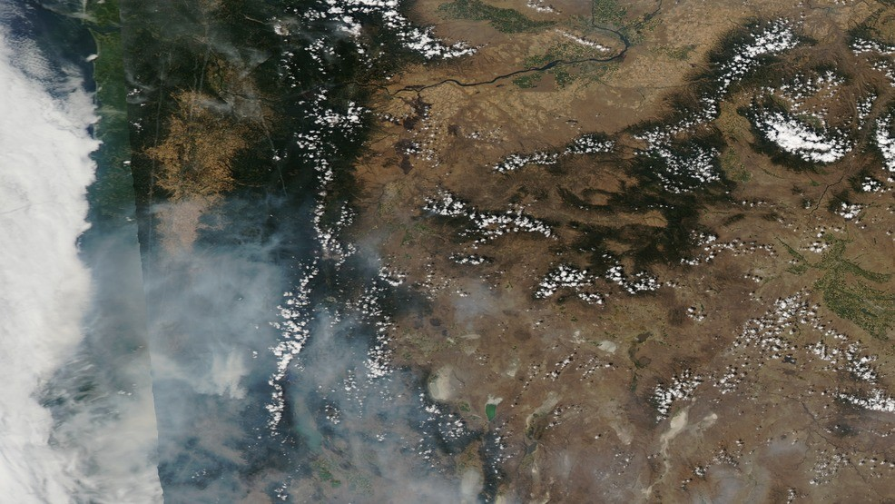 Where Is The Smoke Coming From Where S The Fire Tracking Wildfire