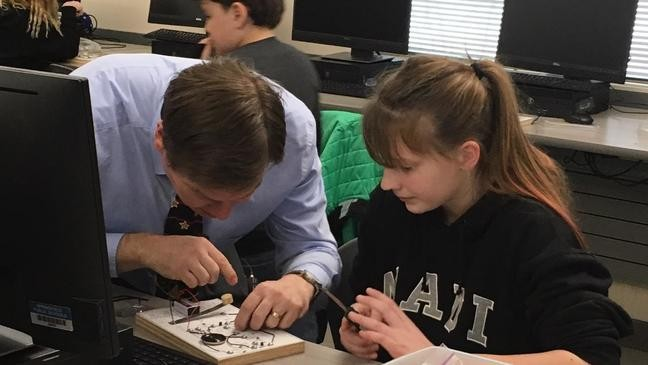 Springfield students learn lesson learning Morse code: 'If