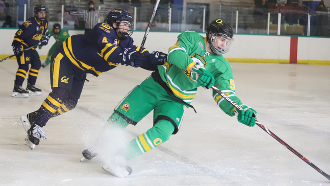 new product ab985 a32e0 Oregon Ducks hockey team shuts out Cal to win Pac-8 title | KVAL