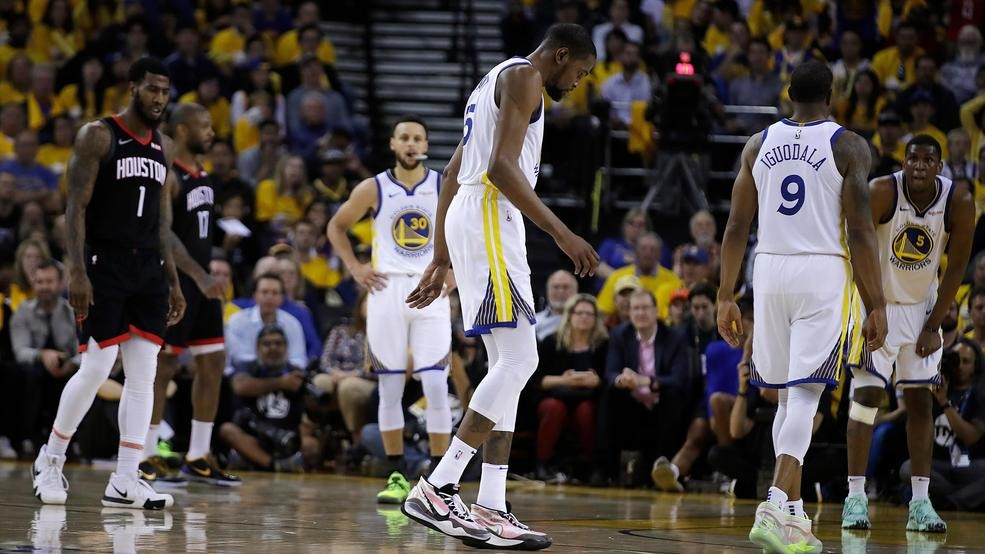 4919a9e304b5 Source tells ESPN  Durant will not play in Game 1 against Trail ...