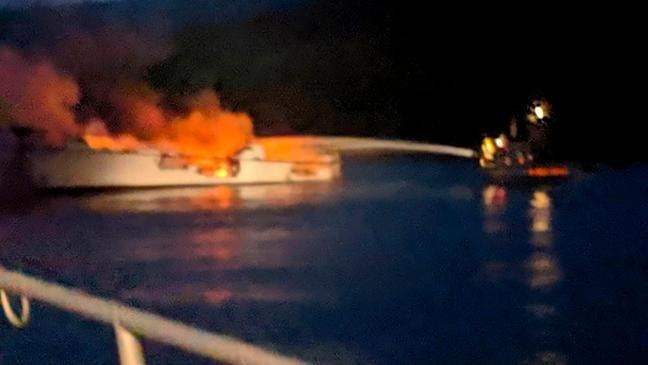 8 killed in deadly California boat fire