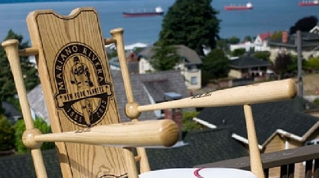 Tremendous Oregon Rocking Chair Maker Hits One Out Of The Park Kval Inzonedesignstudio Interior Chair Design Inzonedesignstudiocom