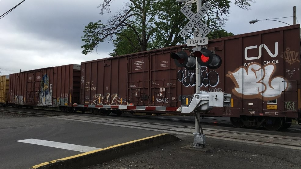 Woman hit and killed by train in Eugene | KVAL